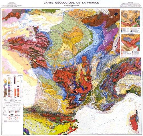 Carte géologique de la France : 1/1 000 000