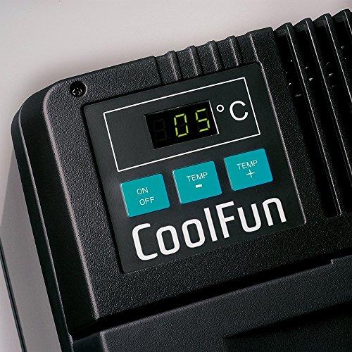 DOMETIC Waeco 9105303377 CoolFun CK 40D Hybrid Kompressor- / Thermoelektrische Kühlbox für 12 und 230 Volt, A+
