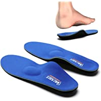 Valsole Orthotic Insole High Arch Foot Support Soft Medical Functional Insoles, Insert for Severe Flat Feet,Plantar…