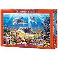 Comparador de precios CASTORLAND Castor País B de 52547Dolphins Underwater, Puzzle de 500Piezas - precios baratos