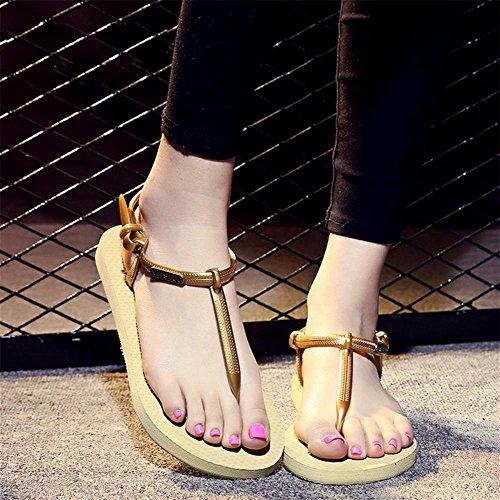 pengweiSummer Leisure Slitta e Pantaloni Donna sandali con flip-flop 1
