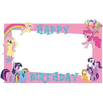 Party Propz My Little Pony Photobooth Frame 2ft Amazonin Toys