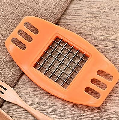 Honeysuck Creative de pommes de terre Sliver trancher Cutter molletonné avec frites Maker Outil