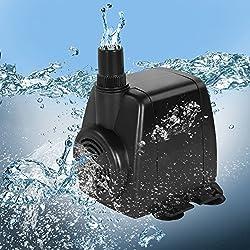 Jago Mini pompa sommergibile ad immersione movimento acqua per acquario fontana 28 W ca. 1400 litri/ora