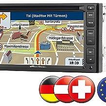 """NavGear StreetMate 2-DIN-Autoradio mit 6""""-Navi DSR-N 62 Europa"""