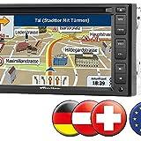 NavGear Autoradio Navis: StreetMate 2-DIN-Autoradio mit 6