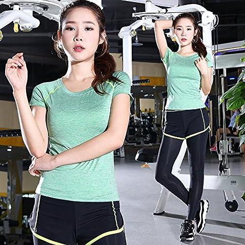 Falsi due pezzi della tuta set sottile femmina fitness Kit