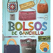 Bolsos de ganchillo con lana y trapillo (Taller de manualidades)
