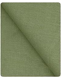 KUNDAN SULZ GWALIOR Men's Unstitched Linen and Cotton Shirt Piece (Light Green_1.60 Metre)