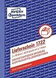 AVERY Zweckform 1722 Lieferschein weiß
