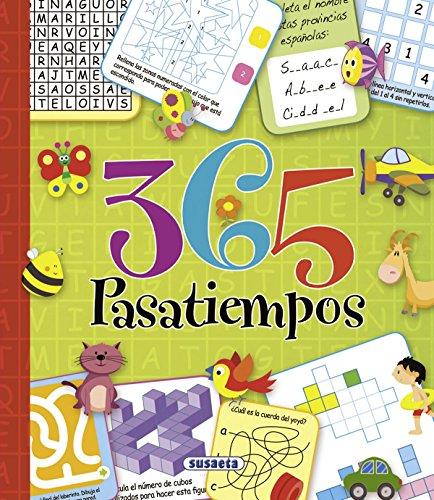365 pasatiempos por Equipo Susaeta