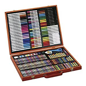 Crayola 200 Piece Masterworks Art Case Amazon Co Uk Toys