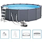 Intex 12353 Graphite Panel Pool, 478x124cm