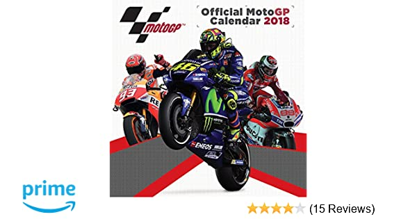 motogp official 2018 calendar pyramid international amazoncouk kitchen home