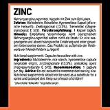 ESN Zinc, hochdosiert, Pro Series, 120 Kapseln, 1er Pack (1 x 90g Dose) - 3