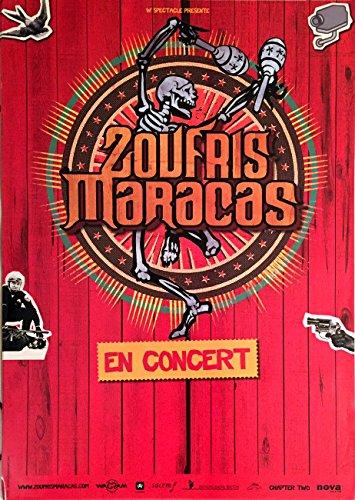 Zoufris Maracas, 40 x 60 Cm Kunstdruck/Poster