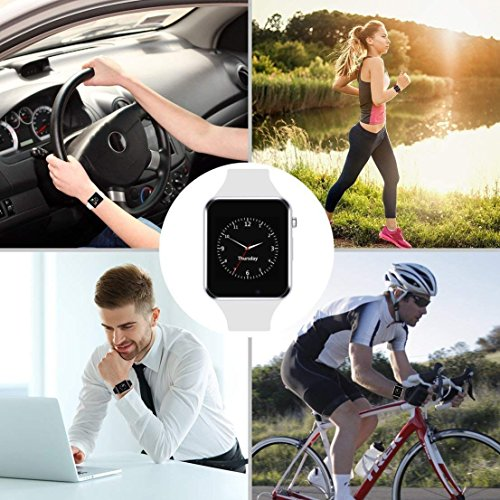 Vinpi Samsung Galaxy J2 2018 Compatible A1 Smart Watch with Camera and sim Card Support WiFi/Camera/Pedometer/Loud Speaker and Fitness Band Features