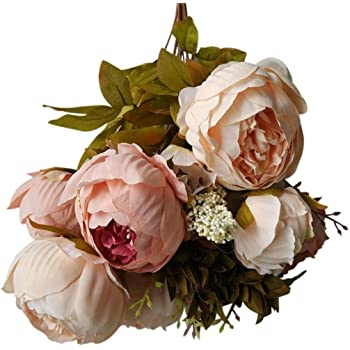 Wawer Artificial Flowers Petals Feel And Look Like Fresh Roses