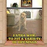 Magic Gate Portable Folding Safe Guard und installieren überall Haustier Hund Sicherheit Gehäuse Hund Tor Hund Zäune Baby Zäune Katze Zäune