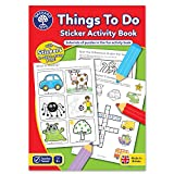 Orchard Toys Things To Do Sticker Activity Colouring Book