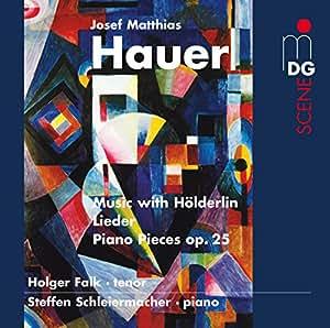 Musique avec Hölderlin, Lieder, Pièces pour piano op. 25
