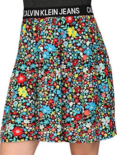 Calvin Klein Jeans Damen Rock mischfarben XS (34) - Calvin Klein Jeans-rock