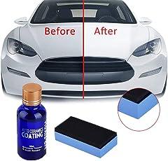 Careflection Anti-Scratch Car Polish Car Liquid Ceramic Coat Auto Detailing Glasscoat for Automobiles, Cars, Motocycle, Paint Care Super Hydrophobic Glass Coating 30ml