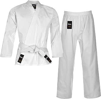 Lonsdale Kinder Karate Anzug Kampfkunst Kampfsport Kimono Karateanzug Baumwolle