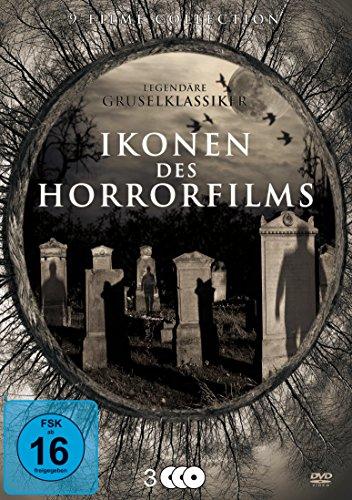 Ikonen des Horrorfilms - Legendäre Gruselklassiker [3 DVDs] (Zombie-filme Die Auf Dvd)