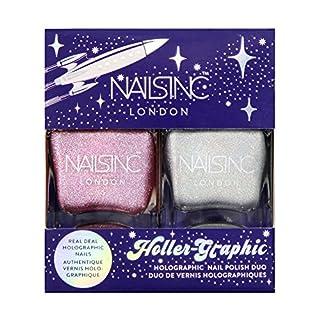 Nails Inc Holler-Graphic Nail Polish Duo