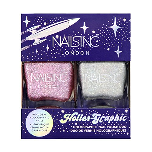 Nails Inc Duo de vernis holographiques