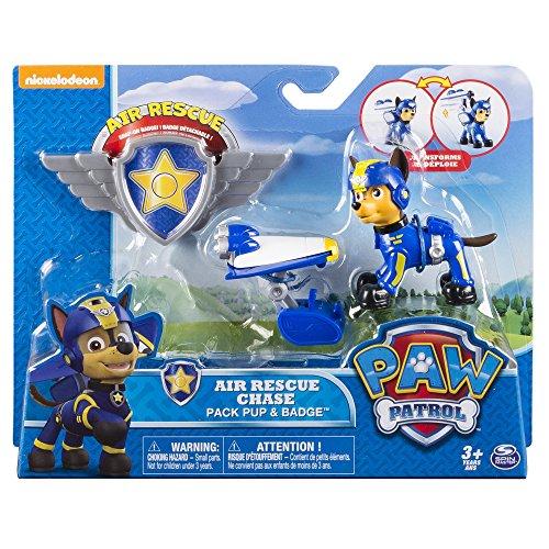 Patrulla Canina - Patrulla Aérea figura Chase (Bizak 61926669)