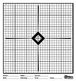 X-Targets Uno chieß Discos/33x 35cm/Papel 170g/m²