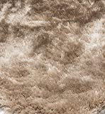 Alfombra salon sala de estar Carpet pelo largo Design WHISPER SHAGGY RUG 100% Polyester 65x135 cm...