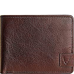 HIDESIGN Vespucci Buffalo Leather Slim Bifold Wallet, Brown
