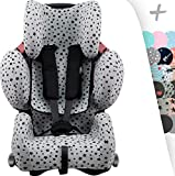 Copertura per Recaro Young sport Hero con rinforzo 3D Center Channel Janabebe (Black Star)