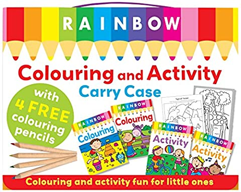 Rainbow Colouring Carry Case
