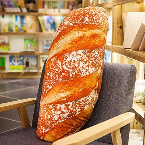 WYQLZ Créative mode alimentaire 3D simulation crème pain longue oreiller canapé oreiller belle personnalité ( conception : B , taille : 60 cm )