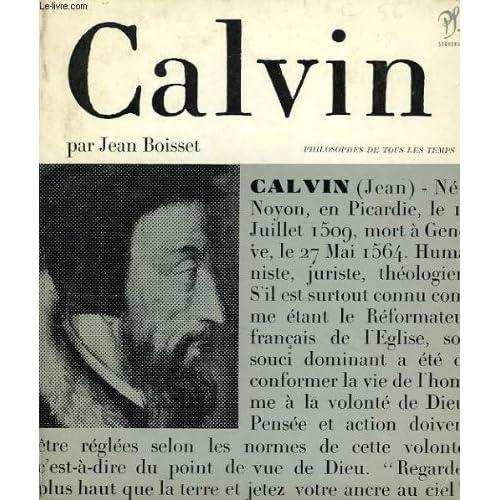 Calvin et la souverainete de dieu