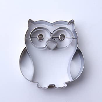Owl Sugarcraft Cutter by Valley Cutter Company 55mm Cake Decorating