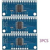 3pcs CD74HC4067 Módulo de la placa de desglose del multiplexor digital de 16 canales de Digitaces para Arduino