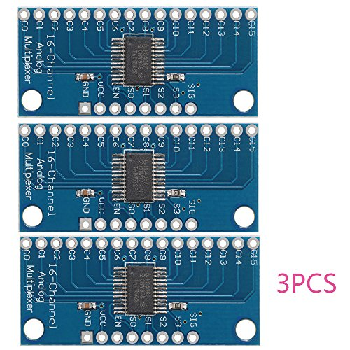 3stk CD74HC4067 16-Kanal Analog Digital Multiplexer Breakout Karten modul für Arduino