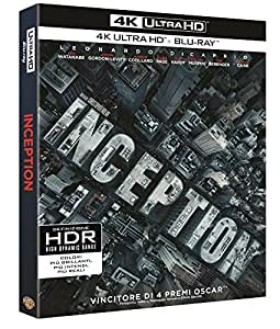 Inception (4K ULTRA HD + Blu Ray)