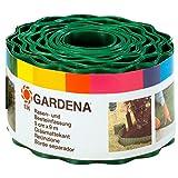Gardena 536-20 Recinzione per Prato, Altezza 9 cm, Delimitazione Ottima, Idonea anche per Aiuole, Plastica di Alta Qualità, Verde, 9 m
