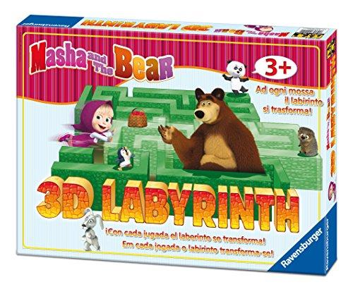 Ravensburger LABIRINTO JUNIOR 3D Masha Gioco 21180