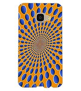 ColourCraft Illusive Design Back Case Cover for SAMSUNG GALAXY C5