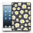 Head Case Designs Daisy Pattern Floral Fashion Stripes Hard Back Case for Apple iPad mini 1 / 2 / 3