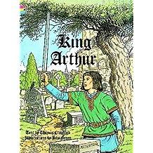 KING ARTHUR. Coloring book