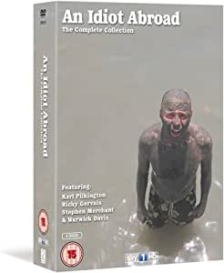 An Idiot Abroad Complete 1-3 TV Series DVD Collection [ 5 Discs ] TV Series 1,2,3 Boxset + Extras