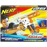 Super Soaker - Pistola Agua Thunderstorm Elc. Pilas 28X35X7 (Hasbro) 27-28495